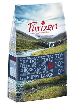 Purizon Large Puppy Huhn & Fisch 2 x 12 kg