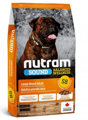 S8 Nutram Sound Balanced Wellness® 11,4 kg