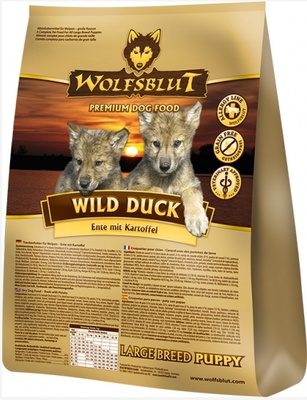 Wolfsblut Wild Duck Puppy Large Breed 2x15 kg