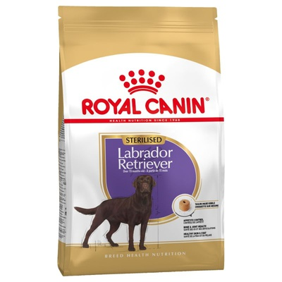 Royal Canin Labrador Retriever Sterilised 2x12kg