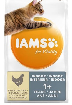IAMS for Vitality Cat Adult Indoor Huhn