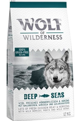 "Wolf of Wilderness Adult ""Deep Seas"" - Hering"