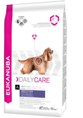 Eukanuba Adult Daily Care Sensitive Skin 2 x 12 kg