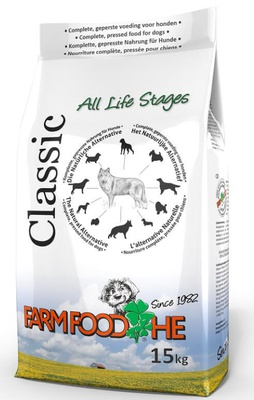 Farmfood HE Classic Hundefutter mit kostenloser Hundewurst