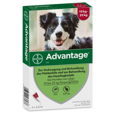 Advantage® 250 (4 Pipetten x 2,5 ml)