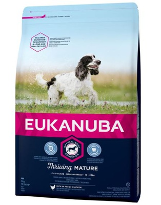 Eukanuba Thriving Mature Medium Breed Huhn 15 kg