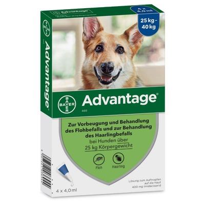 Advantage® 400 (4 Pipetten x 4,0 ml)