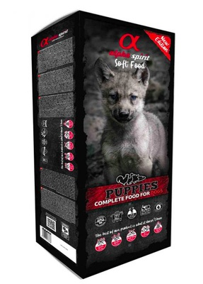 alpha spirit Complete Dog Food Puppies 9kg
